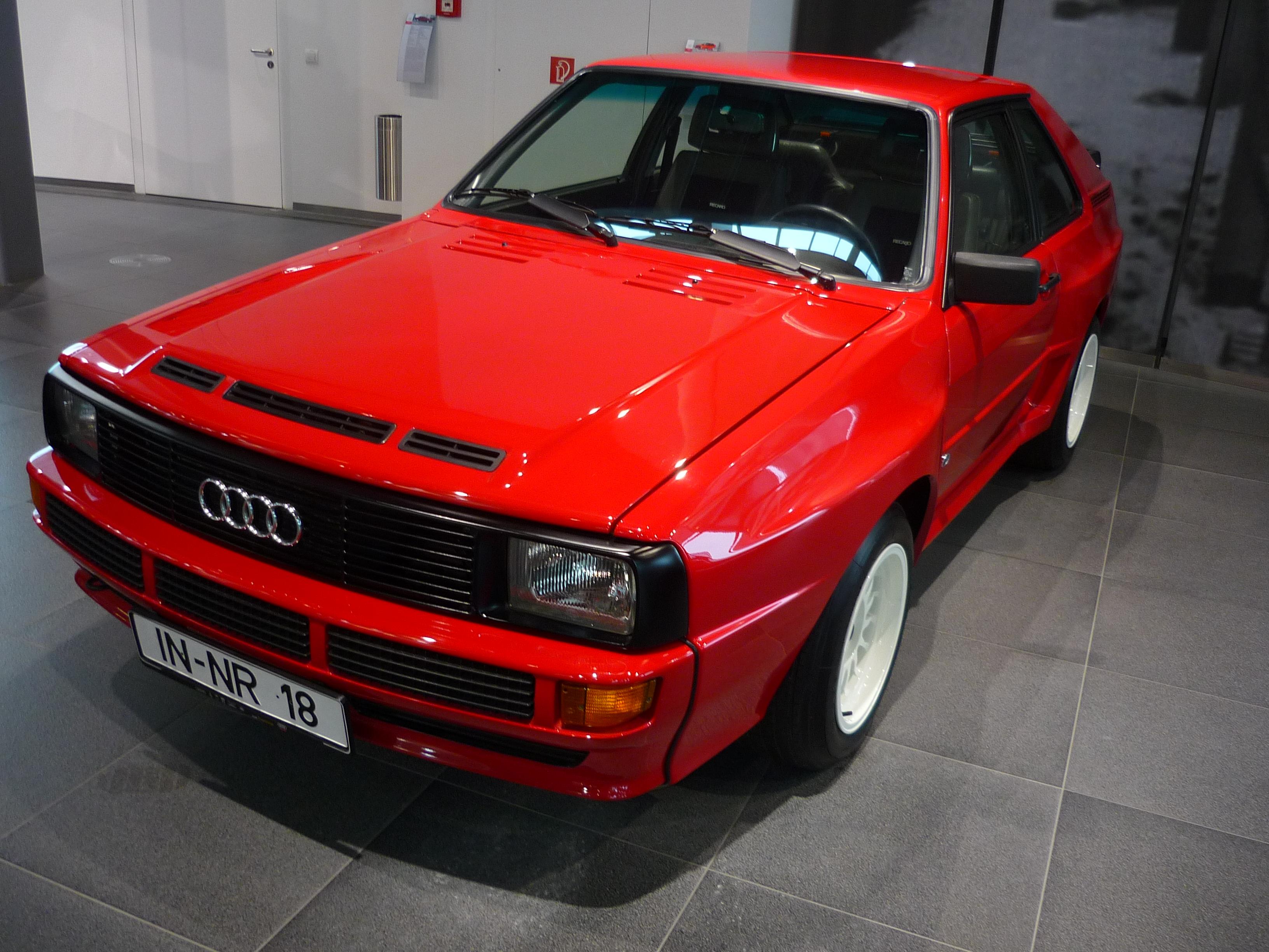 Audi Sport Quattro 1984.