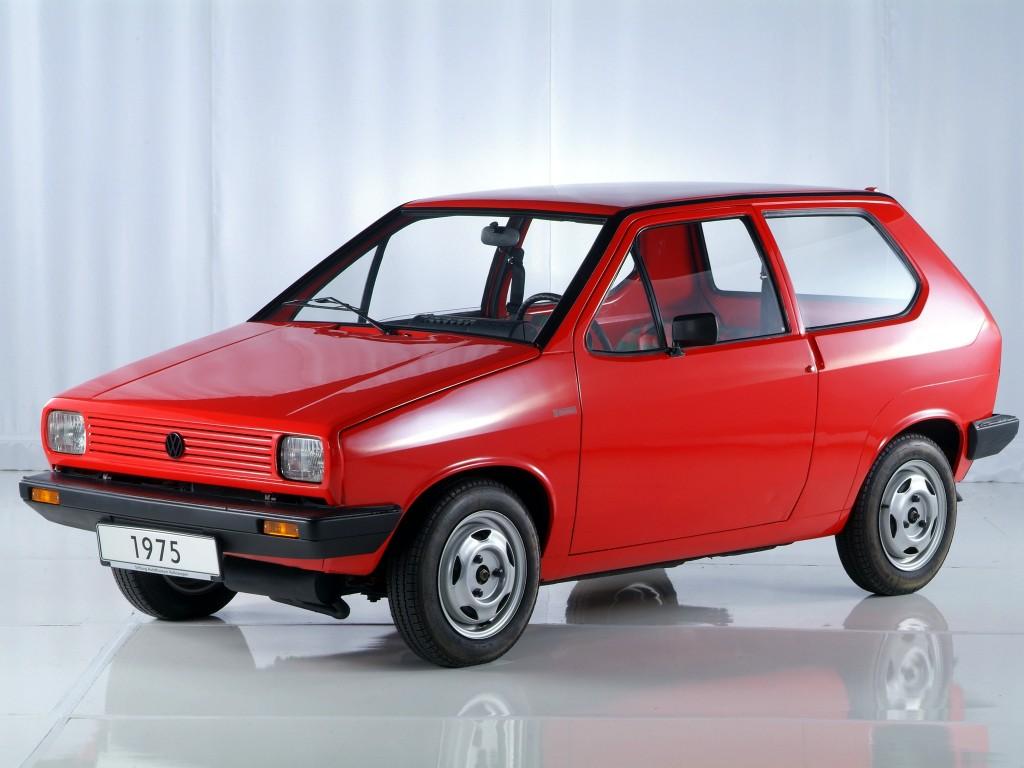 Conceito Chicco de 1975 para Volkswagen não foi aproveitado; o desenho foi reaproveitado em seguida no Fiat Uno.