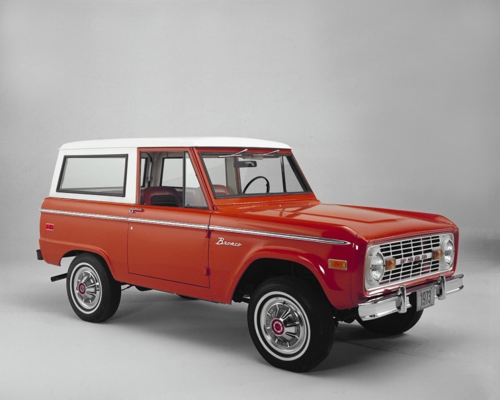Ford Bronco 1973.
