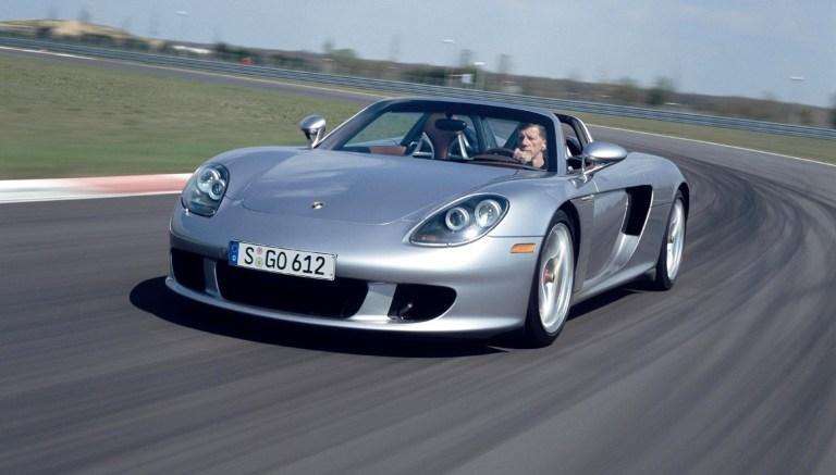 Porsche Carrera GT, enfim um bom uso para o V10.