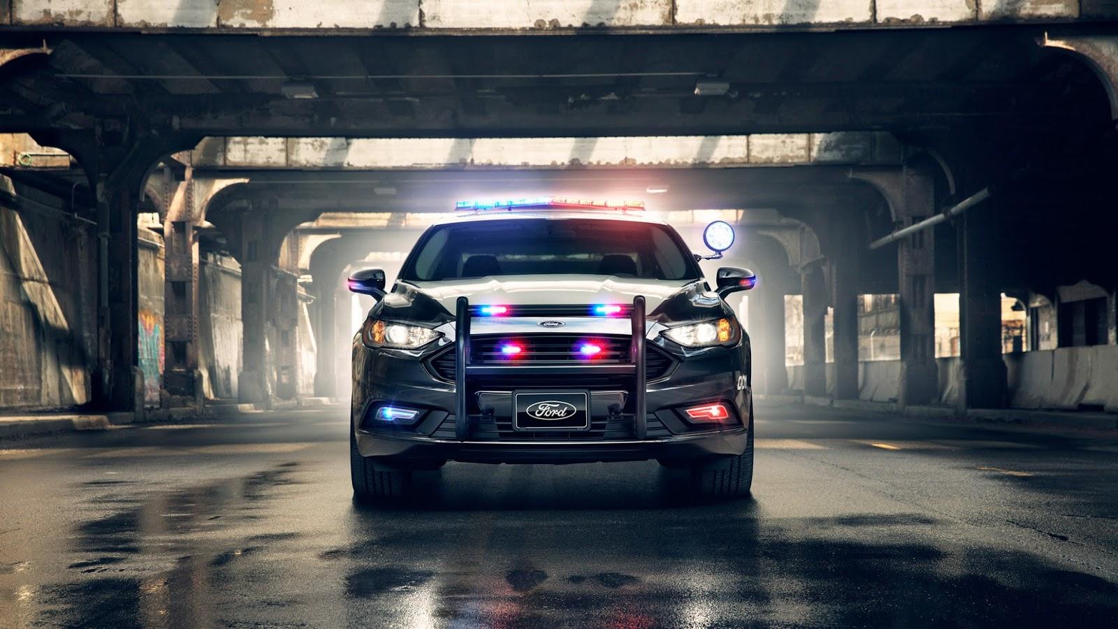 Sport Cars As Police Cruisers Usa