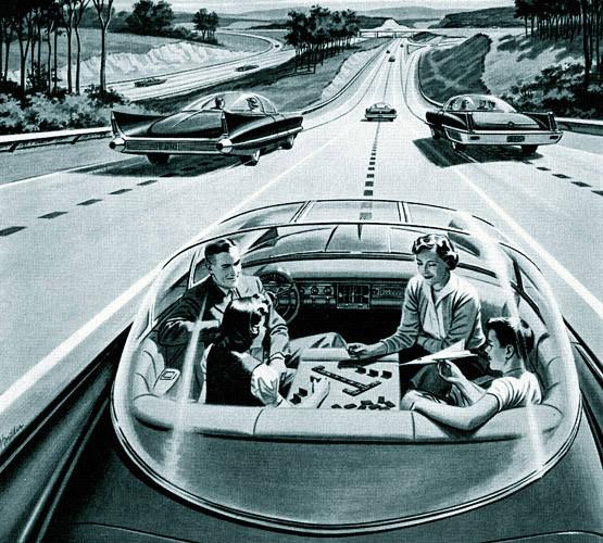 Em 1925 já se falava em carro autônomo…