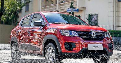 Renault Kwid surpreende e já é vice-líder do mercado