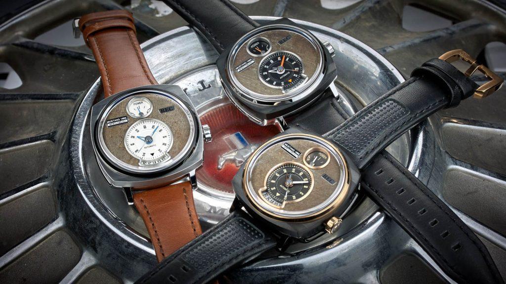 d26f70e4e1a Reciclagem  seu Mustang velho pode ser transformado em relógio