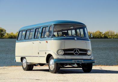 """Kombi"" 1959 da Mercedes-Benz custa o mesmo que um AMG GT!"