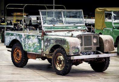 70 anos desaparecido: encontrado o primeiro Land Rover