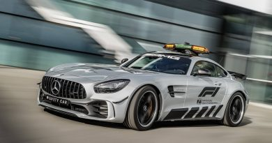 "Fórmula 1 2018: o ""safety car"" Mercedes AMG GT R"