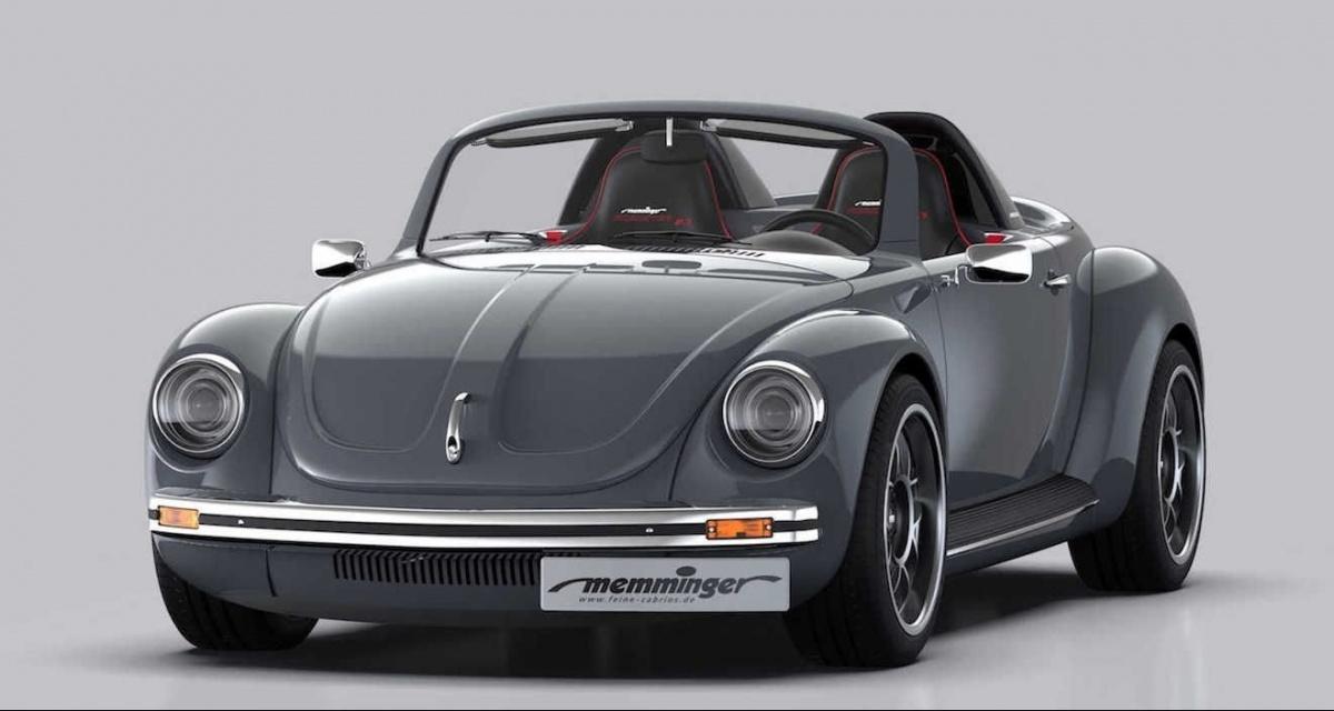 Fusca: Memminger Roadster 2.7, o que o New Beetle poderia ...