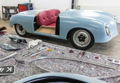 Porsche reproduz o 356 número 1 de 1948