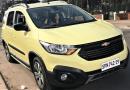 Ex-segredo: nova Chevrolet Spin fotografada na Argentina