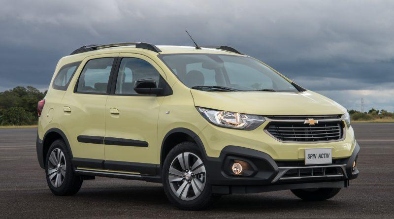 LANÇAMENTO: Chevrolet Spin 2019