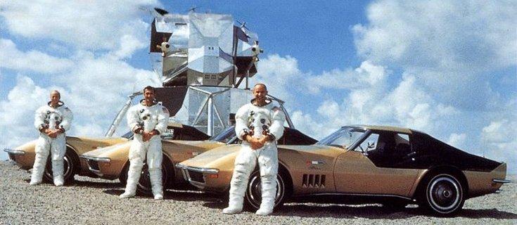 Chevrolet: a história dos Corvette dos astronautas