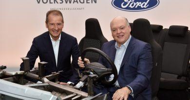 Carro elétrico da Ford usará plataforma VW