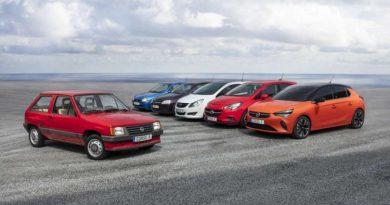 Opel Corsa: 37 anos, 13,6 milhões de carros e seis gerações de história