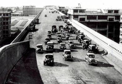 A incrível pista de testes da Fiat, no teto da fábrica