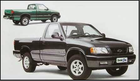 ESPECIAL: os 25 anos da picape Chevrolet S10