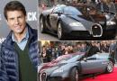 "Tom Cruise está na ""lista negra"" da Bugatti"