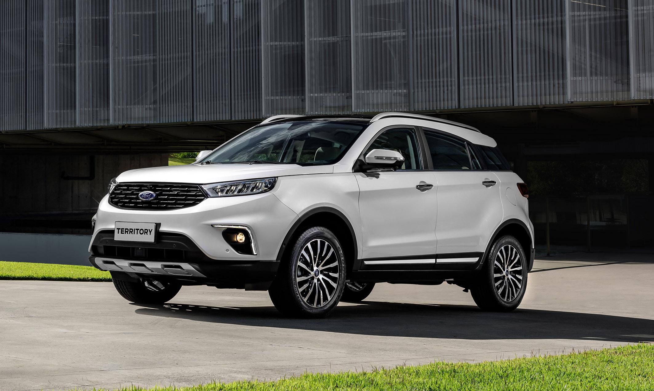 Ford lança o Territory, SUV chinês, a partir de R$ 166 mil