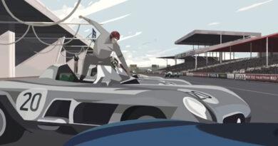 Vídeo: desenho animado relembra o trágico acidente de Le Mans 1955.