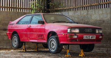 Audi Quattro 1985 hibernou 25 anos e acabou de ser vendido