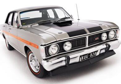 Ford Falcon XY GT, o muscle car australiano. E por que não?