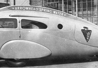O desaparecido Arrowhead Tear-drop Car 1937